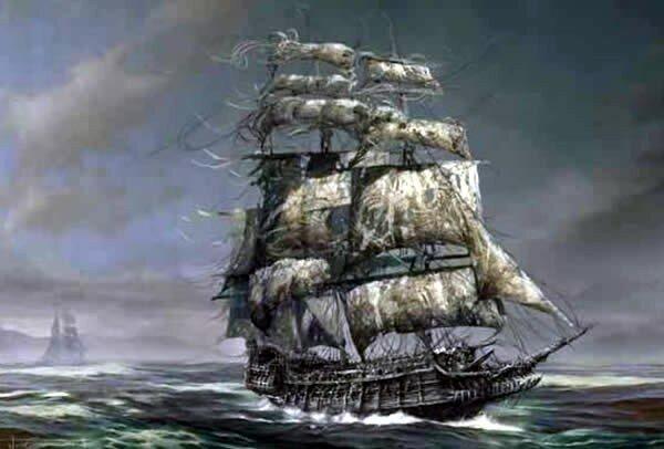 История о корабле-призраке