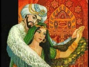 Картинка из аудиосказки Калиф аист