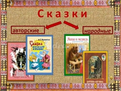 Народные и авторские сказки