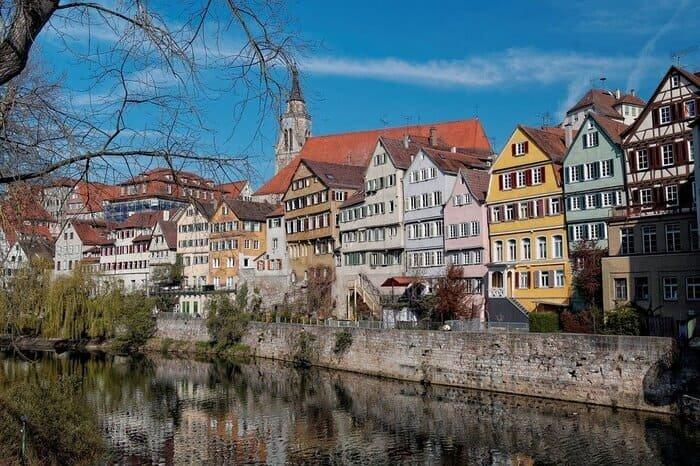 Тюбинген где жил Вильгельм